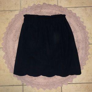 Lauren James Scalloped skirt